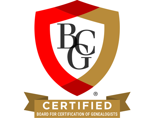 BCG will use newly revised Genealogy Standards for evaluation effective 15 May 2019