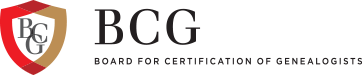 Board for Certification of Genealogists Logo