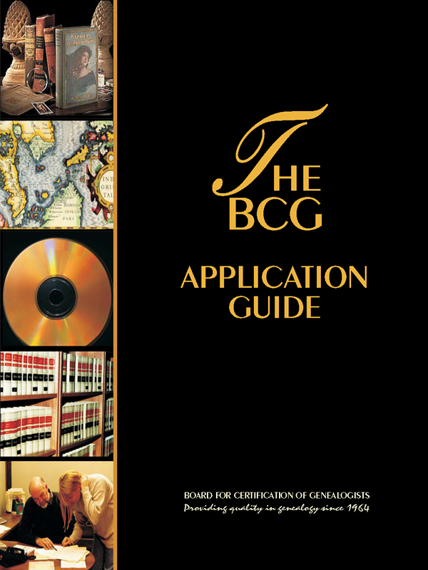 BCG Application Guide (Free download) – Board for Certification of ...